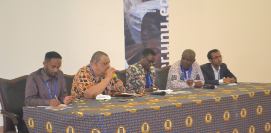 ASSAR and DECCMA Ghana present at UNU-WIDER Development Conference